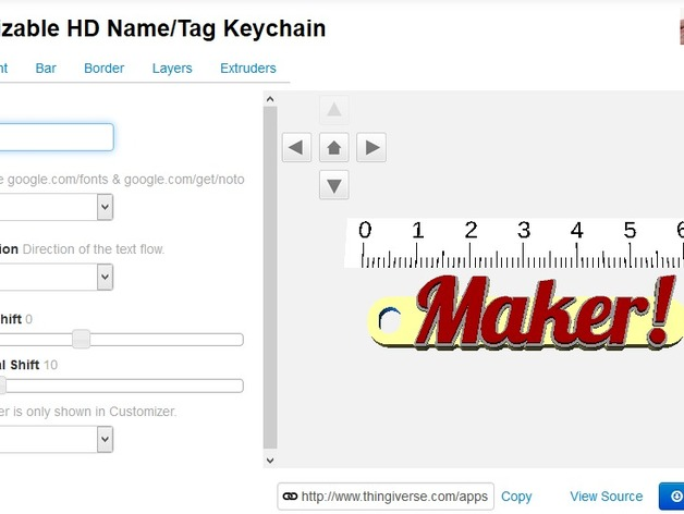Customizable Multiline Tag Or Keychain By Wstein Thingiverse