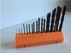 Pegboard Drill Bit holder 19 mm