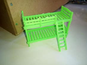 bunk bed 100mm