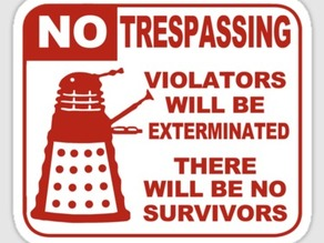 Dalek Sign