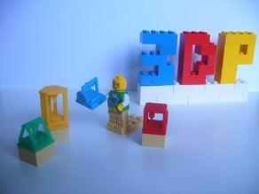 Lego Minifigure 3D Printers