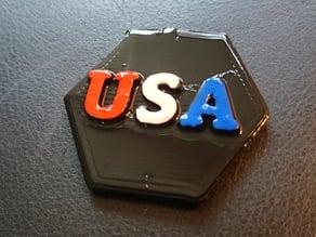 RPG Status Token USA United States of America