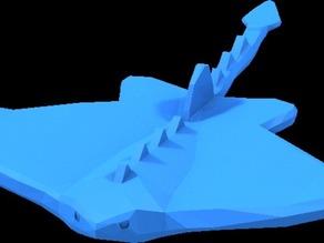 small lego manta ray