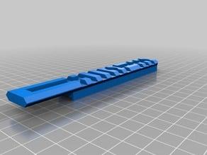 Airsoft SRS-A1 picatinny rail