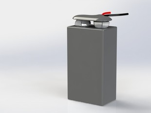 9 Volt Battery with Battery Clip