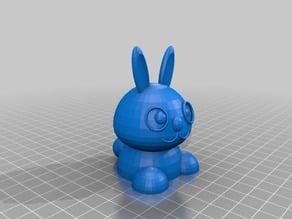 Bunny Test Sculpture