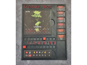 Creature Tracker Board for The City of Kings