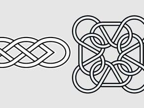 Celtic Knot Egg