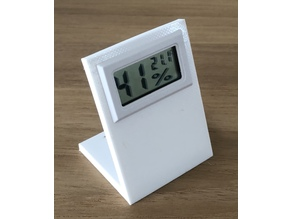 Temperature and humidity stand