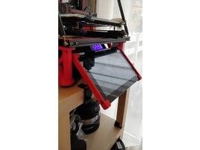 Articulated Ikea Lack tablet holder