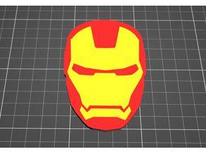 Iron Man Logo Multi Color Smooth MK2 MMU
