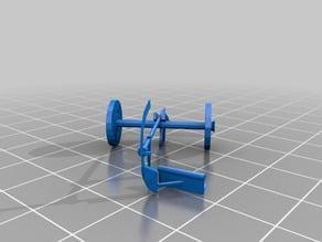 Medieval plough wheels