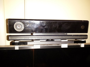 Xbox one Kinect and Wiiu sensor bar holder for Samsung TV