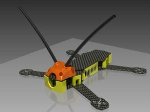 ZMR250 RX antenna mount