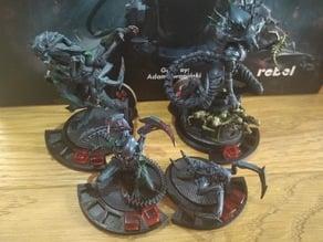 Nemesis Board Game monster bases