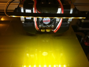 Felix 3.0 3D Printer Light Bar Mod