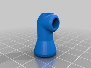 90 degree coolant nozzle for Loc-Line