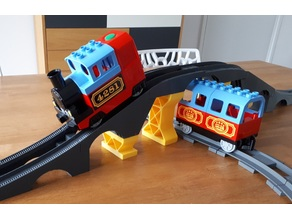 Lego Duplo Train Bridge