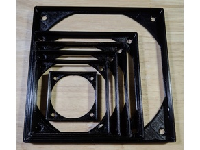 Anti-vibration fan gaskets