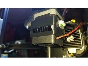 NEMA17 Stepper Motor Clip Over Heat Sink 40mm Fan Mount