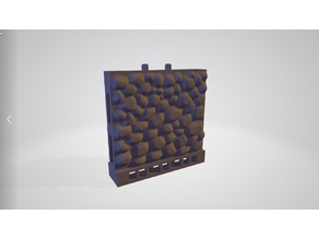 Stone wall Terrain tile - Compatible with OpenLOCK™