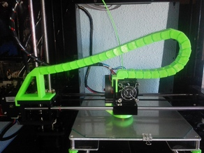 Anet A6 X-Axis Cable Chain