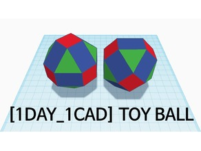[1DAY_1CAD] TOY BALL