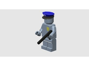 Minifig Police person