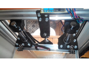 Re-D-Bot 16 mm rod Z axis for 2040 table (version 2)