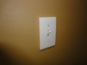 AtHome Light Switch Plate 1 gang