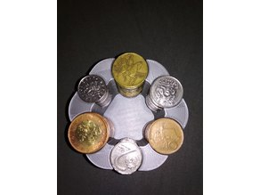 Czech Coin Holder