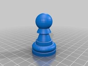 Chess Set Pawn
