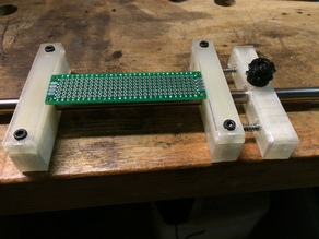 PCB Holder One Rod