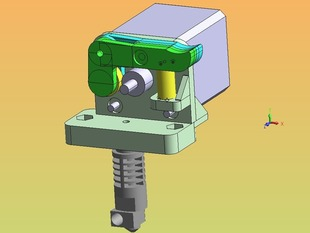Direct-drive replacement for Wade type extruder