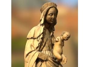 figure of Virgin Mary