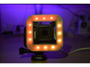 Thin Diffuser for GoPro HERO RGB LED Light Ring
