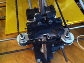 Pulley extenders for Huxley