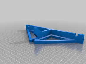Anet A8 Rear frame brace for stepper dampeners