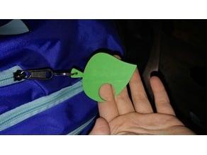 AC Leaf Keychain