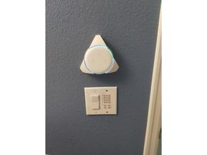 Echo Dot 3 wall mount - behind the wall wiring