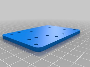 original right x axis mount plate  for flsun cube