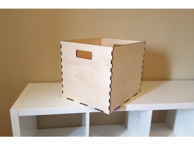 Ikea Kallax Storage Bin By Carlotta4th Thingiverse