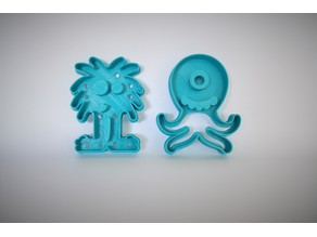 Monster Cookie Cutter Series - with AiR Design