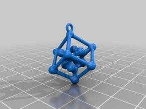 Diamond Lattice Pendant