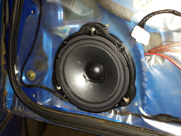 Subaru Impreza Front Speaker Spacer By Ramb0t Thingiverse