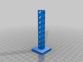 Hatchbox PLA Temp Tower