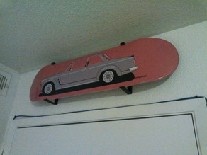 Skateboard Wall Mount (no trucks)
