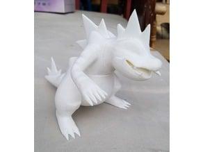 pokemon Feraligatr figure