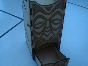 Tiki Dice Tower