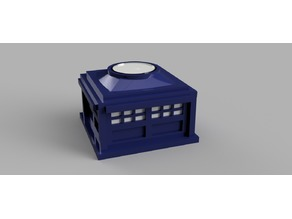 Police Box - Tealight holder/decoration
